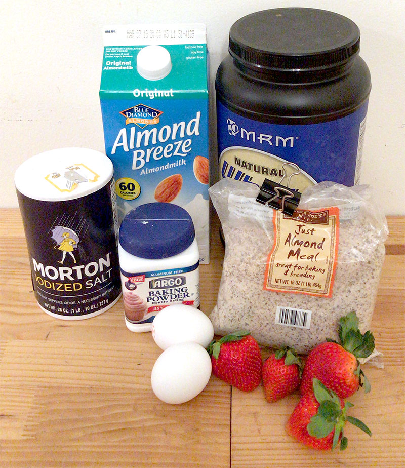 Healthy Pancake Recipe Ingredients