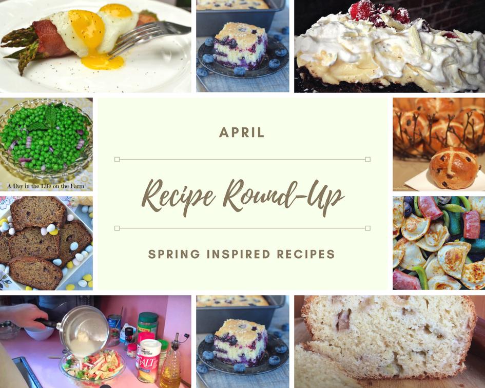 APRIL Recipe Roundup