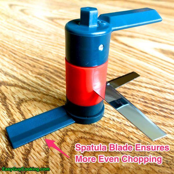 food chopper spatula blade