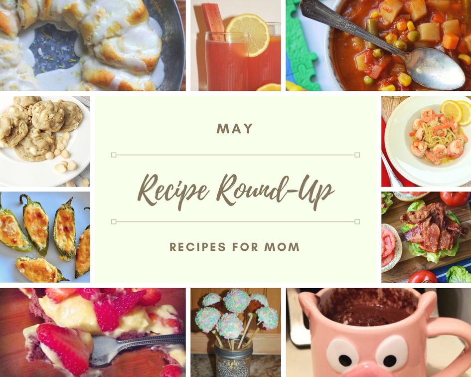 may 2018 recipe roundup