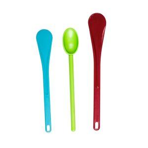 colored spatula set