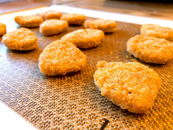 silicone baking sheet chicken nuggets