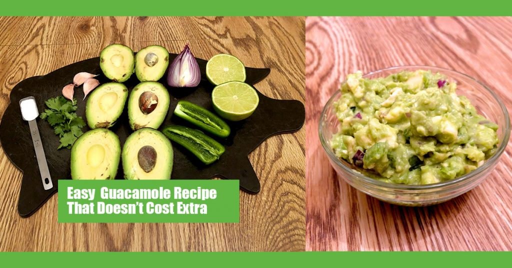 Easy Guacamole Recipe Facebook Banner