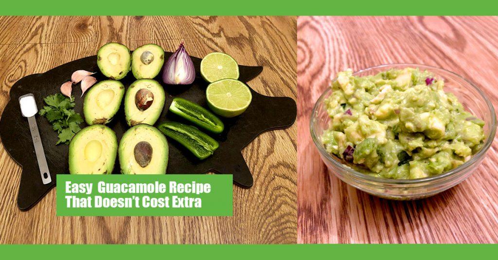 Easy Guacamole Recipe Facebook Banner