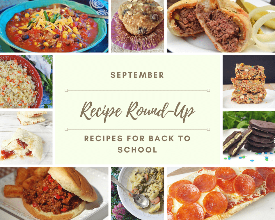 September Recipe Roundups