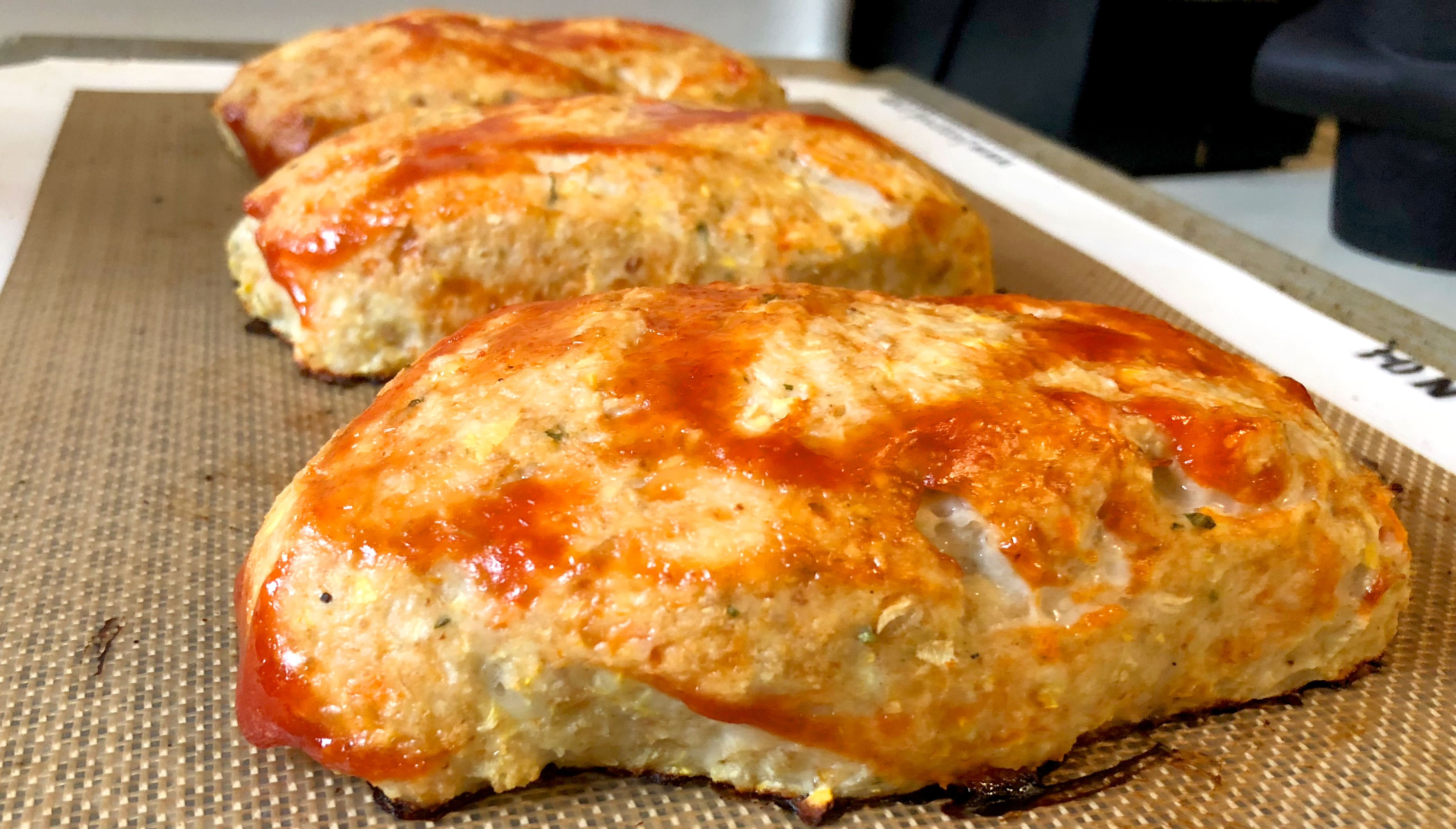 Chicken Meatloaf Recipe Loaded With Veggies