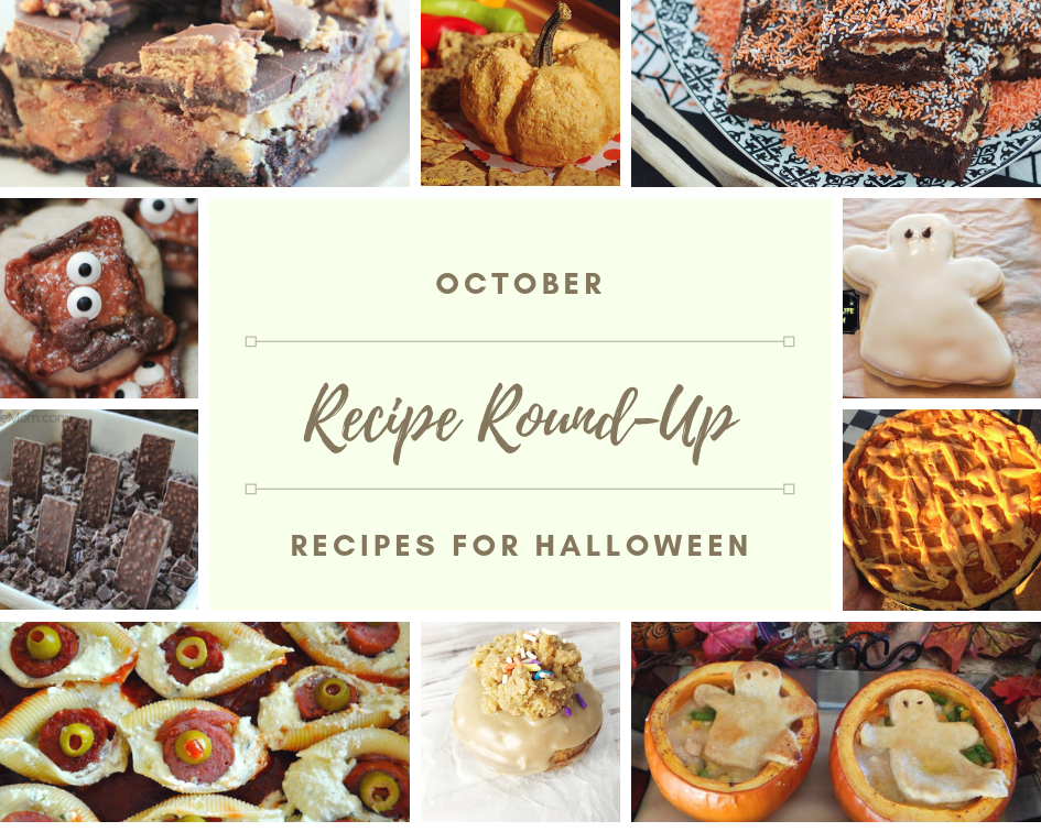 halloween recipe roundup 2018